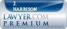 J. Brett Harrison  Lawyer Badge