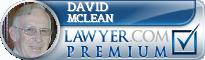 David M. McLean  Lawyer Badge