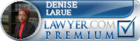 Denise K. LaRue  Lawyer Badge