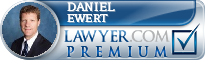 Daniel M. Ewert  Lawyer Badge