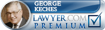 George N. Keches  Lawyer Badge