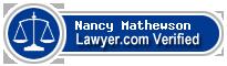 Nancy W. Mathewson  Lawyer Badge