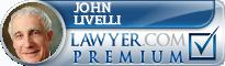 John B. Livelli  Lawyer Badge