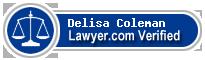 Delisa Coleman  Lawyer Badge