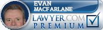 Evan L. Macfarlane  Lawyer Badge