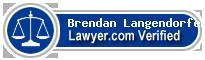 Brendan P Langendorfer  Lawyer Badge