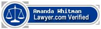 Amanda Whitman  Lawyer Badge