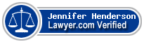 Jennifer Stuart Henderson  Lawyer Badge
