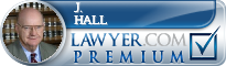 J. Ellsworth Hall  Lawyer Badge
