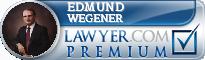 Edmund T. Wegener  Lawyer Badge
