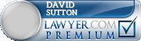 David C. Sutton  Lawyer Badge