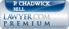 P. Chadwick Hill  Lawyer Badge