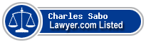 Charles Sabo Lawyer Badge