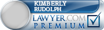 Kimberly A Rudolph  Lawyer Badge
