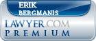 Erik M. Bergmanis  Lawyer Badge