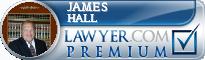 James R. Hall  Lawyer Badge