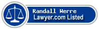 Randall Werre Lawyer Badge
