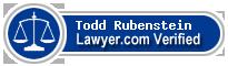 Todd C. Rubenstein  Lawyer Badge