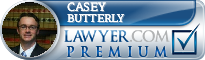Casey J. Butterly  Lawyer Badge