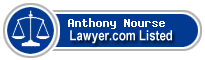 Anthony Nourse Lawyer Badge