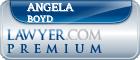 Angela Lynn Boyd  Lawyer Badge