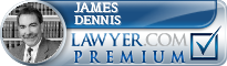 James R. Dennis  Lawyer Badge