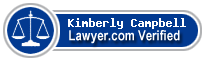 Kimberly J. Campbell  Lawyer Badge