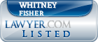 Whitney Fisher Lawyer Badge