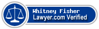 Whitney G. Fisher  Lawyer Badge