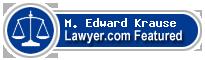 M. Edward Krause  Lawyer Badge