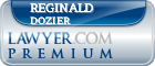 Reginald G. Dozier  Lawyer Badge