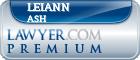 Leiann Ash  Lawyer Badge