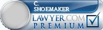 C. Edwin Shoemaker  Lawyer Badge