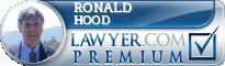 Ronald F. Hood  Lawyer Badge