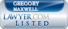 Gregory Maxwell Lawyer Badge