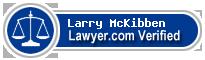 Larry E. McKibben  Lawyer Badge