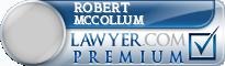 Robert L. McCollum  Lawyer Badge
