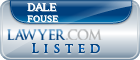 Dale Fouse Lawyer Badge