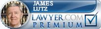 James G. Lutz  Lawyer Badge