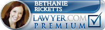 Bethanie E. Ricketts  Lawyer Badge