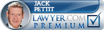 Jack W. Pettit  Lawyer Badge