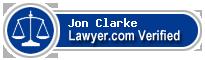 Jon Bruce Weston Clarke  Lawyer Badge