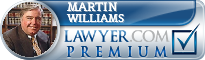 Martin W. Williams  Lawyer Badge