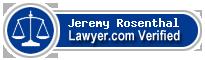 Jeremy R. Rosenthal  Lawyer Badge