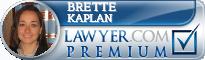 Brette A. Kaplan  Lawyer Badge