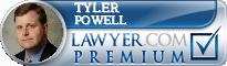 Tyler Powell  Lawyer Badge