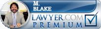 M. David Blake  Lawyer Badge