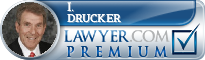 I. Morley Drucker  Lawyer Badge