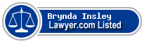 Brynda Insley Lawyer Badge