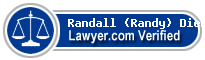 Randall (Randy) A Dierlam  Lawyer Badge